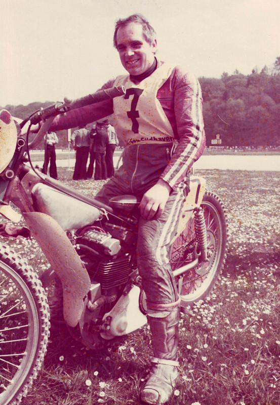 Leidenschaftlicher Rennfahrer: von 1949 bis 1977 war Hans Zierk auf zwei Rädern aktiv.